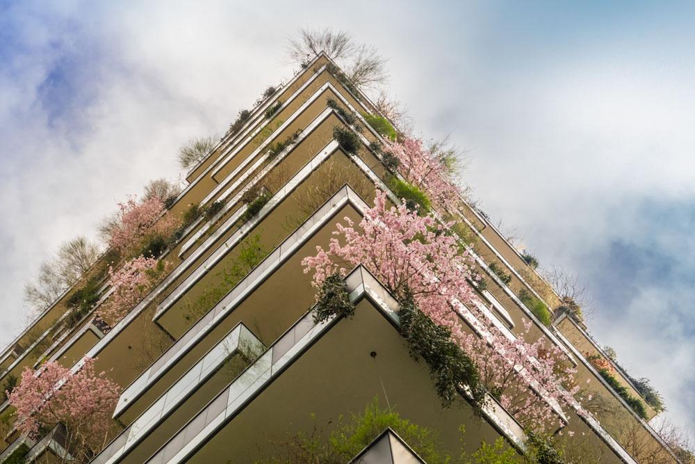 Balcone in città