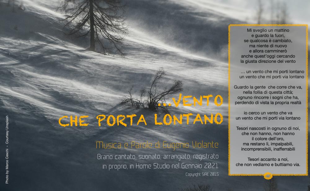 Cover brano musicale di Eugenio Violante
