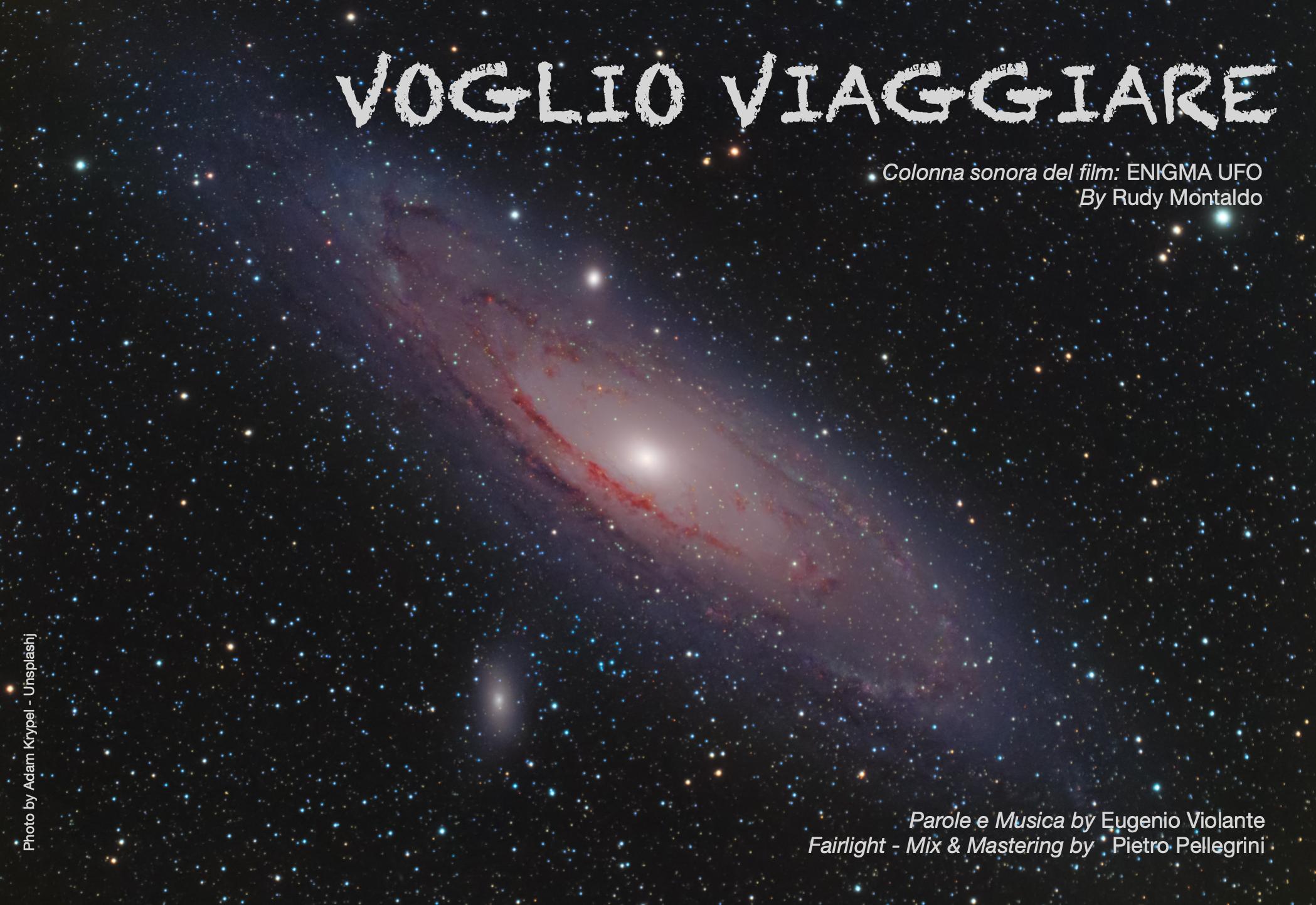 """""""VOGLIO VIAGGIARE"""". Colonna sonora del film: """"ENIGMA UFO"""" Photo by Adam Krypel - Unsplash"""
